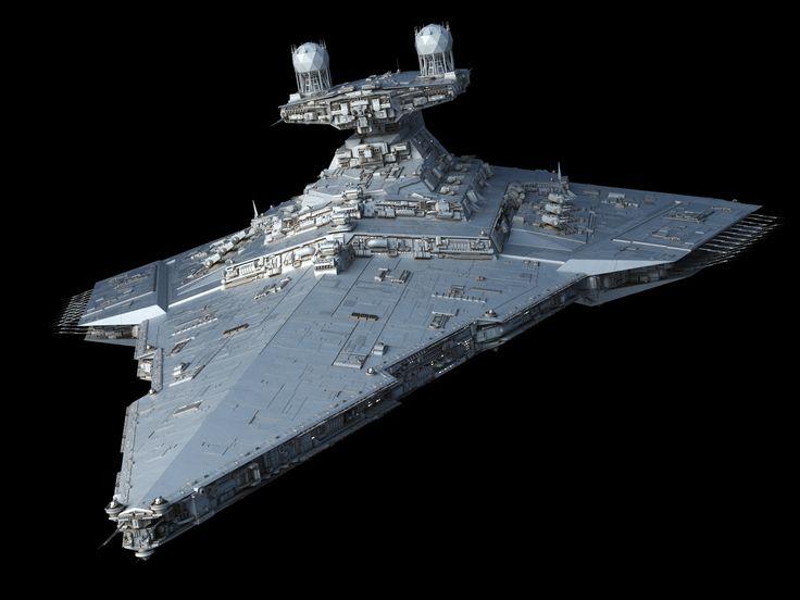 Victory-class Star Destroyer, Ansel Hsiao on ArtStation at https://www.artstation.com/artwork/V3Km8