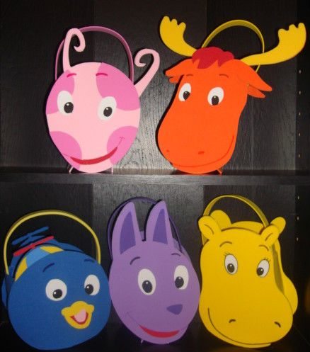 Backyardigans Party Favors Bags Pablo Tyorne Tasha Uniqua Austin | eBay