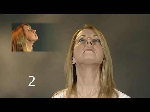 Chin and Jaw exercises to get rid of double chin.