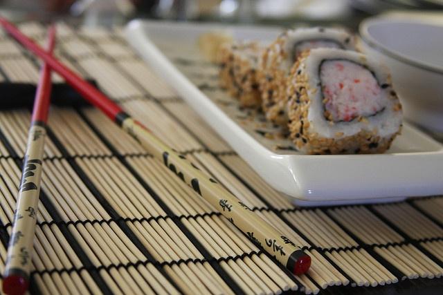 I bet it tastes good!    http://www.sushi-selber-machen.org