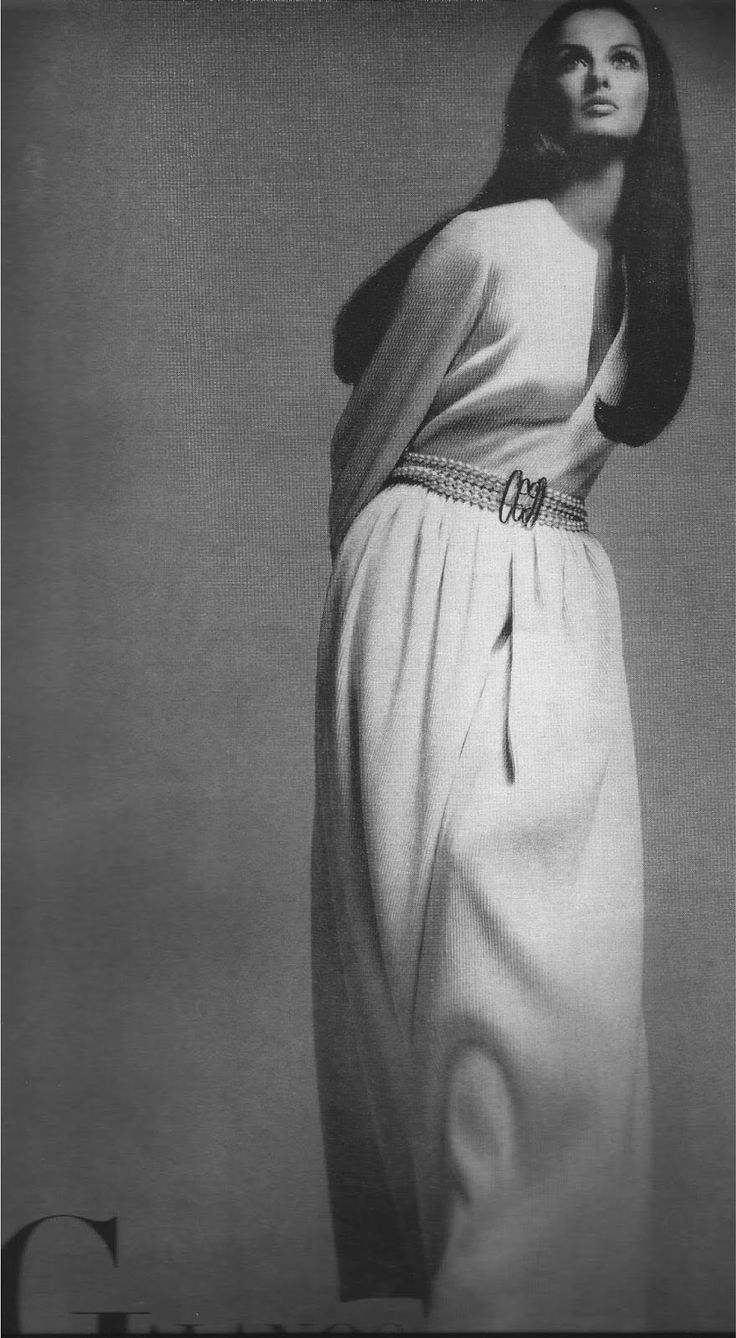 Vogue 1969 / Veronica Hamel