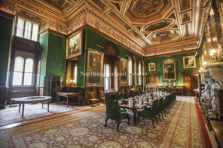 state rooms of alnwick castle northumberland featured in. Black Bedroom Furniture Sets. Home Design Ideas