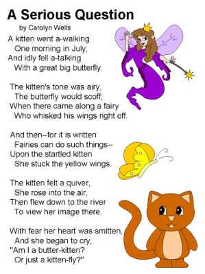 Short Poems For Children With Images To Share Google Search