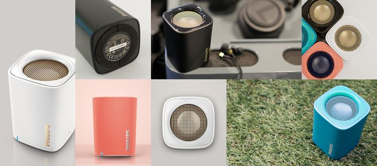 Portable Bluetooth Speaker BT100 | PHILIPS on Behance