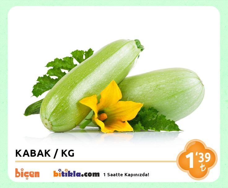 #Manav Reyonumuzda Bugün; #Kabak KG 1,39₺ Ayrıca #Bitıkla http://www.bitikla.com/ 'la 1 Saatte kapınızda.