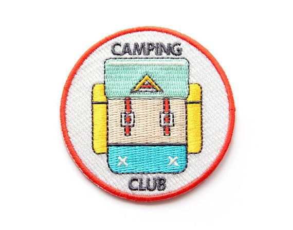 Hey, I found this really awesome Etsy listing at https://www.etsy.com/listing/164317237/camping-club-iron-on-patch