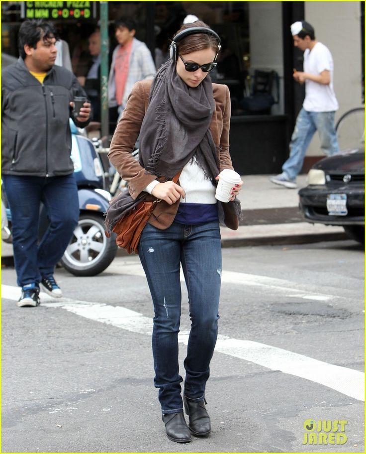 Olivia Wilde: Coffee & Music in NYC!
