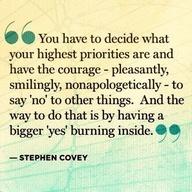 Highest priorities #inspiring #quotes