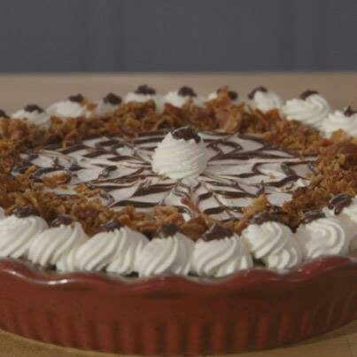 Francine's Chocolate Peanut Butter Bacon Pie