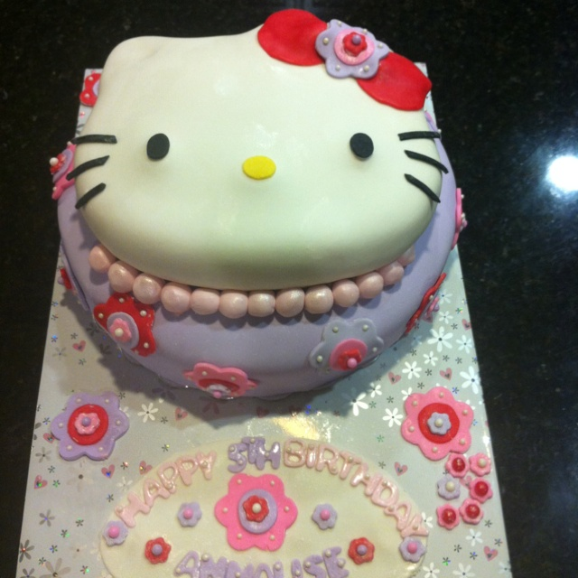 Hello kitty cake.Birthday, Hellokitty