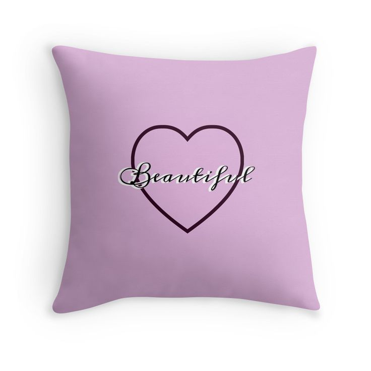 You're beautiful. Nice pads designed by Brigitte B. Would you buy this pillow? Look here: https://www.redbubble.com/people/bbrigitte/works/23527337-beautiful?p=throw-pillow&ref=artist_shop_grid