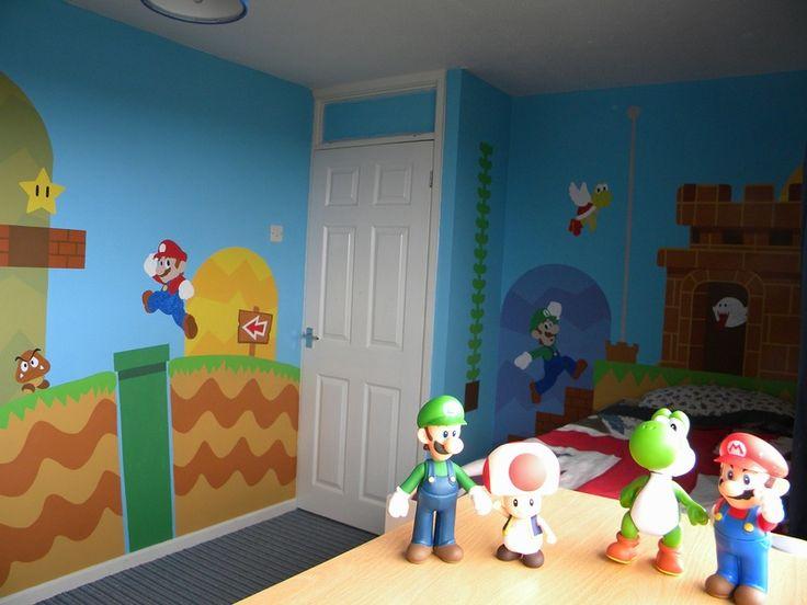 Super Mario Room - Paint me a Picture