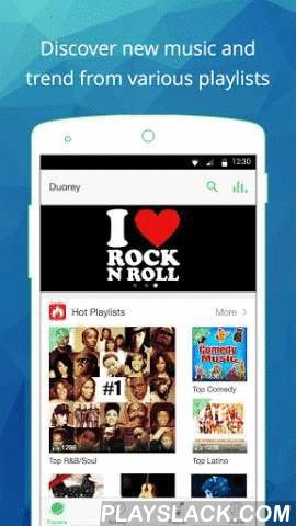 Duorey-Meet Up With The Music  Android App - playslack.com , Duorey is a music social platform. In here, people will never miss one new song but only enjoying great music with people.You can create playlists and share songs with people who like it. Too busy to follow the latest trend of music? Wonder what others are listening? Want to follow people who share your music taste? You need Duorey. ☆☆☆☆Features☆☆☆☆☆Search and discover songsSearch and listen to thousands of music from other user's…