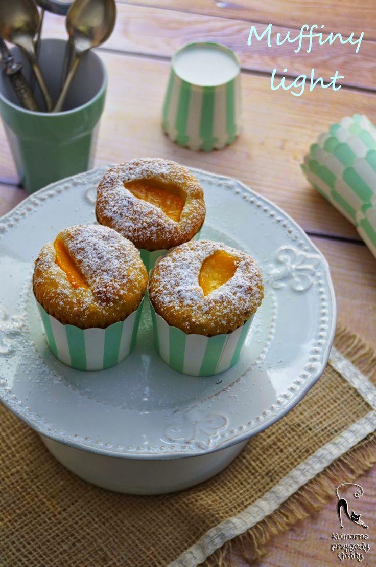 Kulinarne przygody Gatity: Orkiszowe muffiny light z owocami