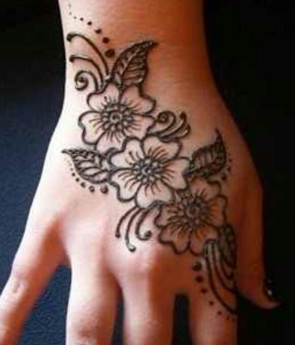 Les 46 meilleures images du tableau henna sur pinterest mod les de henn le henn et tatoo henne - Modele de henna ...