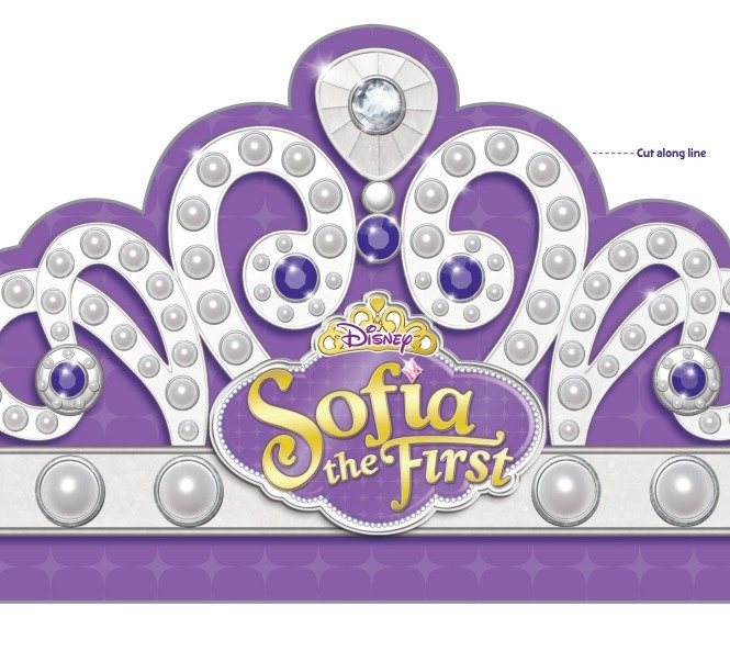 sofia the first crown template sofia the first printables free templates to make