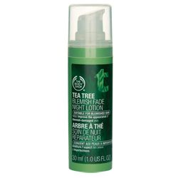 So far this hasn't dried my skin. Which is a big concern for me. I tend to get dry on my nose area. Tea Tree Blemish Fade Night Lotion | The Body Shop ®