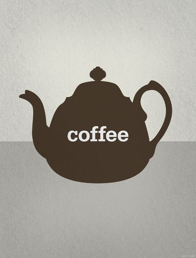 Coffee/Tea Art Print