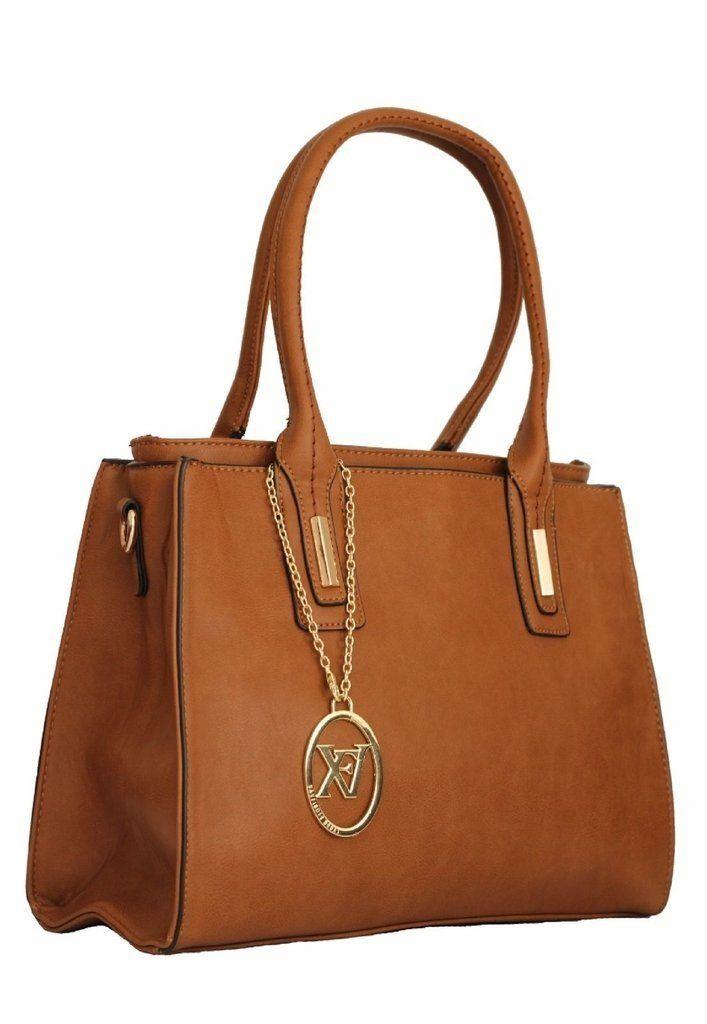 0d81c2e26 Bolsa Feminina Sacola V&V Finder marron | Bolsa Sacola | Bolsas ...