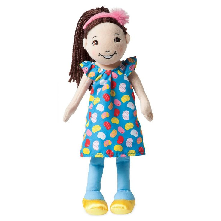 This is the Groovy Girls Julia 13 Inch Plush Figure that's produced by the neat folks over at Manhattan Toys.The Groovy Girls have been popular for quite some time now and the kids are still loving th