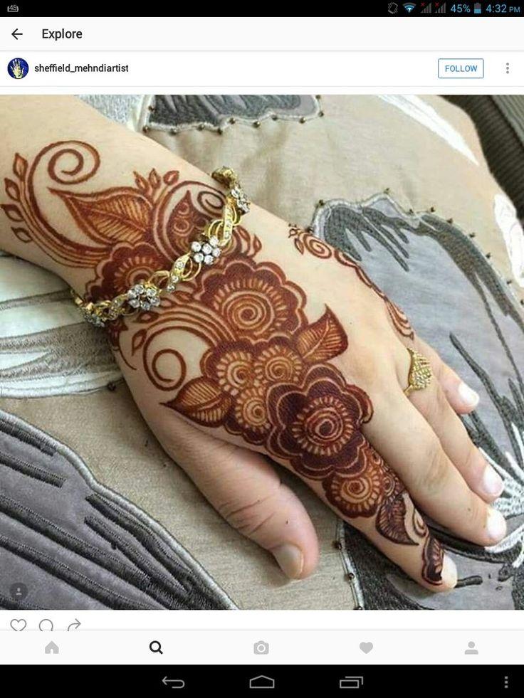 Nice henna design...