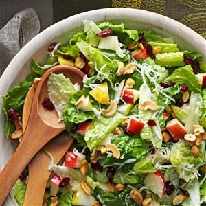 25 Potluck Salads to Feed a Crowd - Be ready for requests for these recipes! Try crowd-pleasing potato, pasta, vegetable, taco and fruit salads that serve 12 or more for your next potluck.