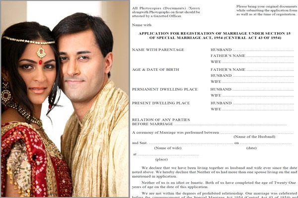 Bringing Registration Online The Indian Government is also introducing an online marriage registration system, in order to ensure that more people get their marriages registered.