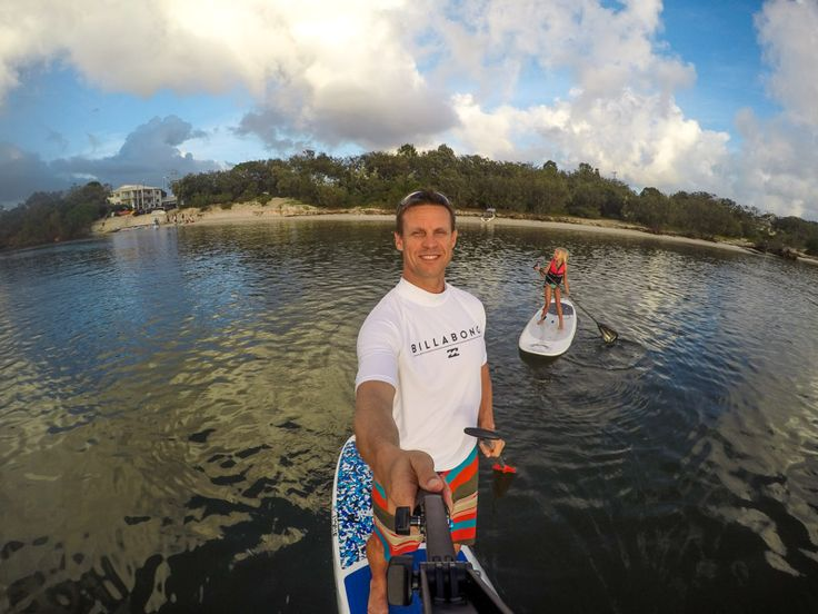 Who loves stand up paddle boarding? A great place is at Golden Beach in Caloundra on the Sunshine Coast of Queensland - Australia