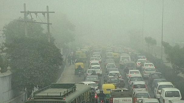 La India permanece impasible ante la alta contaminación de Nueva Delhi | euronews, internacionales