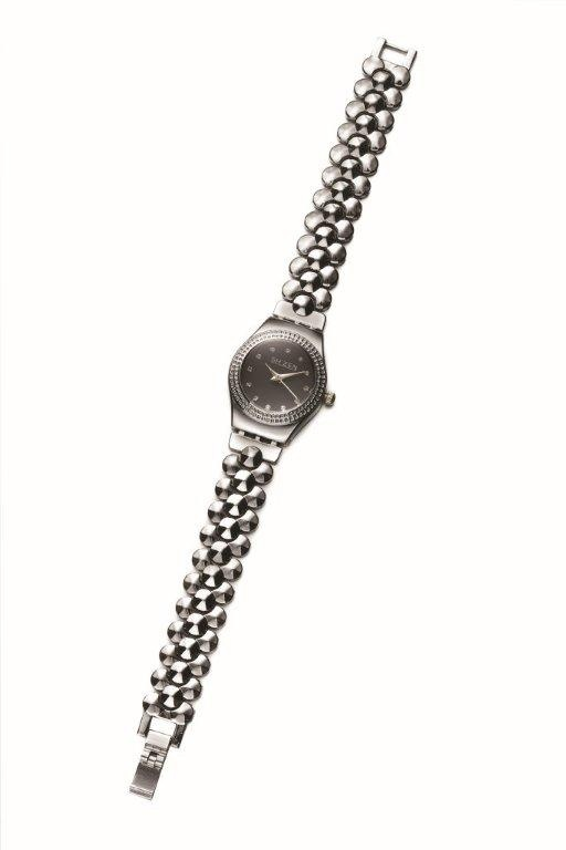 A classic silver watch to match every outfit