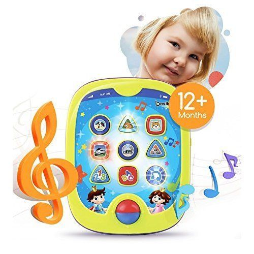 Kids Tablet Babies Developmental Educational Toy Infant Learning Game Toy NEW #Boxik