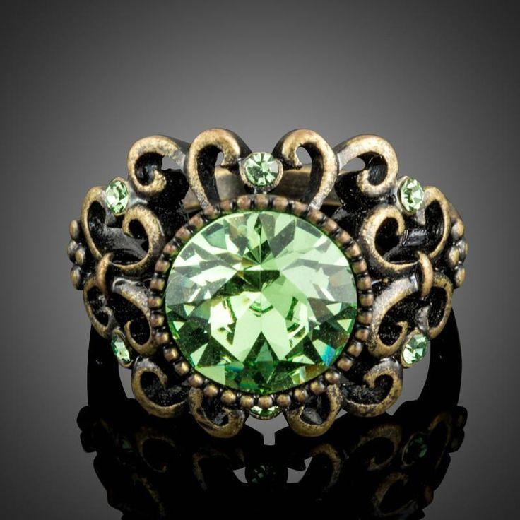 Green Vintage Ring
