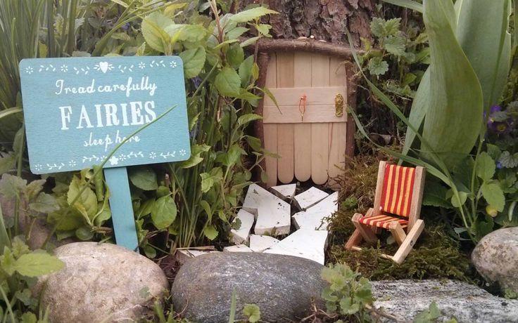 Fairy Garden Door by cordibee