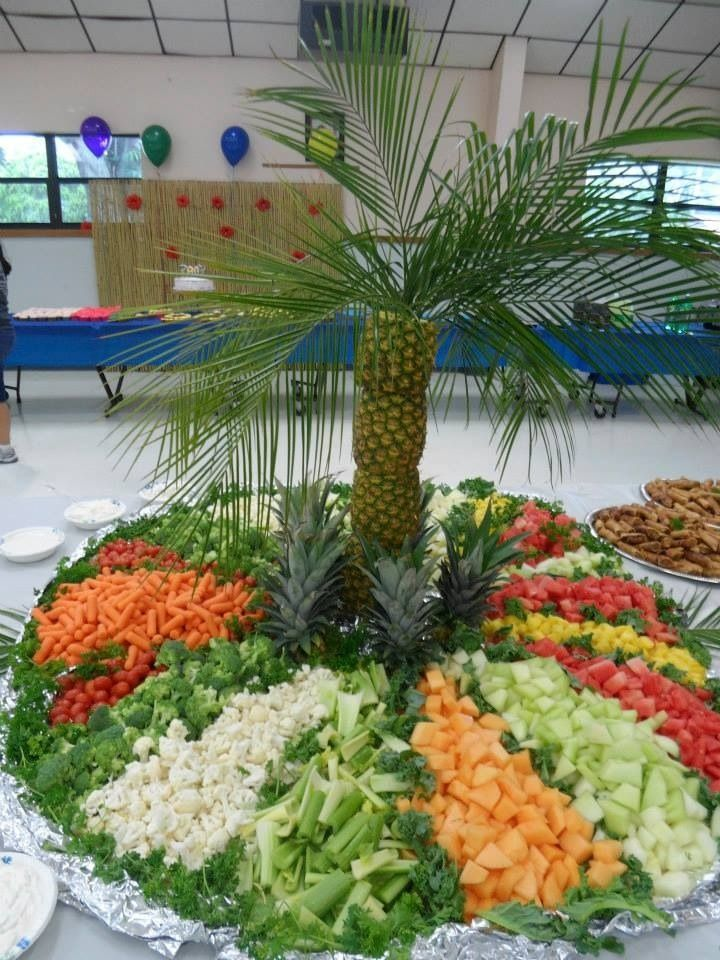 Fruit/vegetable pineapple palm tree | Decorative fruit and ...