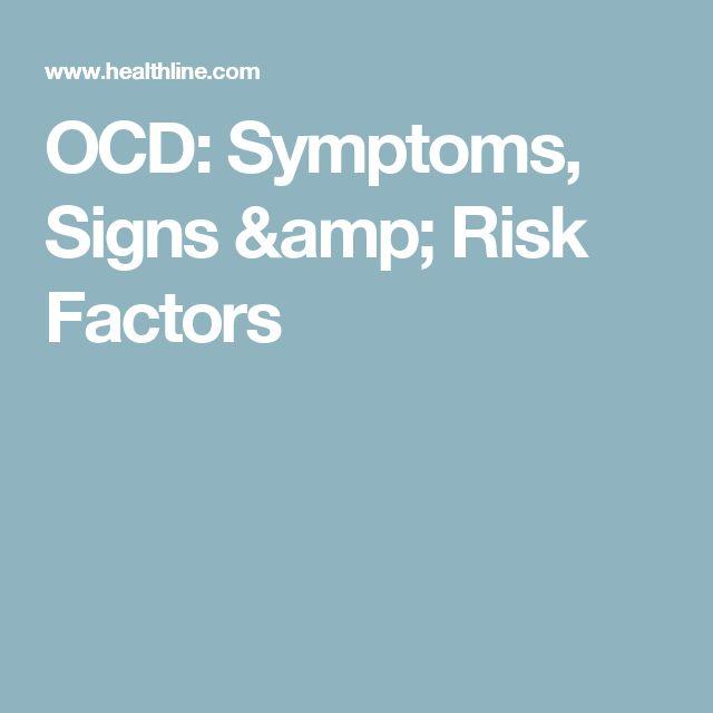 OCD: Symptoms, Signs & Risk Factors