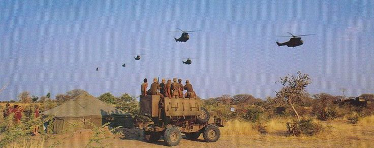 When the Pumas came over, it was the most awesome sight for a 19 year old who just walked out of battle alive