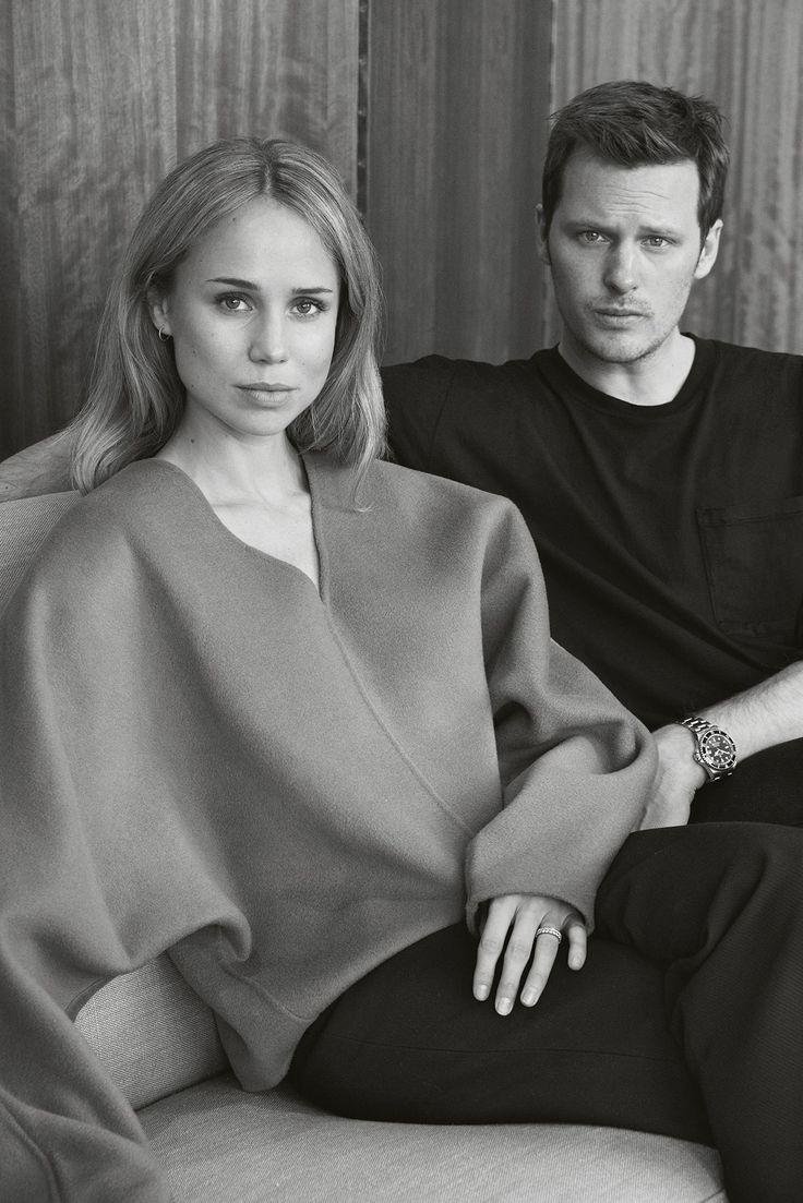 Totême co-founders Elin Kling and Karl Lindman