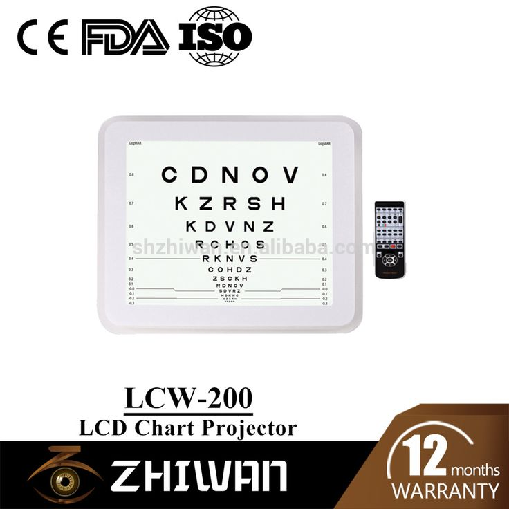 ophthalmic equipment China chart projector for test visual acuity