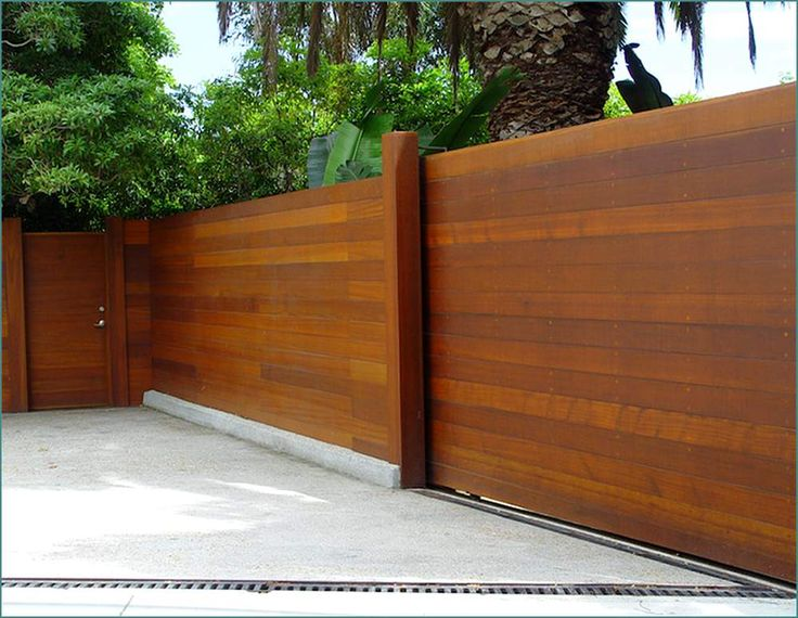 Horizontal Fence Panels | Home Design Ideas | Fence ...