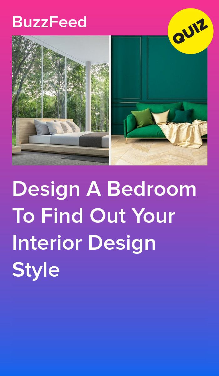 Design A Bedroom To Find Out Your Interior Design Style  Interior