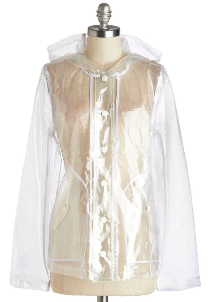 My Fair Festival Raincoat | Mod Retro Vintage Jackets | ModCloth.com