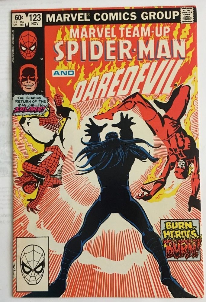 Marvel Team-up Spider-man and Daredevil vol 1 no 123 | Ebay