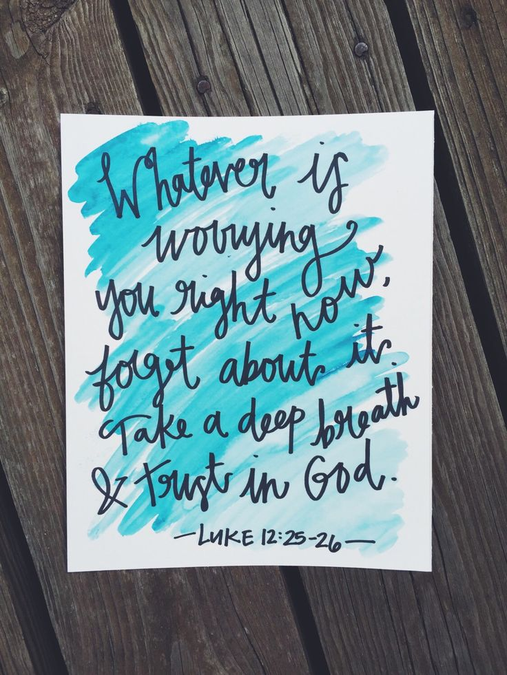 Luke 12:25-26 - 8x10 by annwritten on Etsy https://www.etsy.com/listing/251268587/luke-1225-26-8x10
