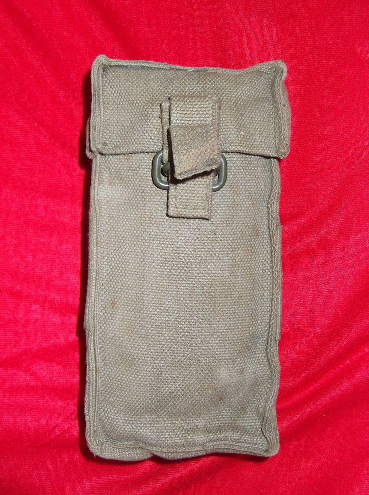 South African Defense Force P70 magazine pouches for the R4 assault rifle.