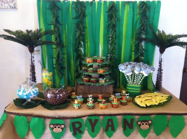 Jungle Safari / Monkey theme - and a great website for theme parties (not just kids)