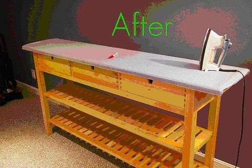 Anyone who sews will love this ironing board - IKEA Hackers - IKEA Hackers