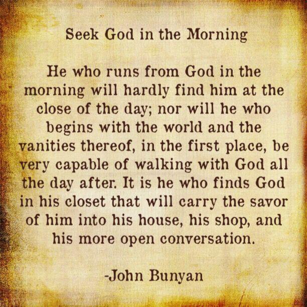 - Author of Pilgrim's Progress   John Bunyan