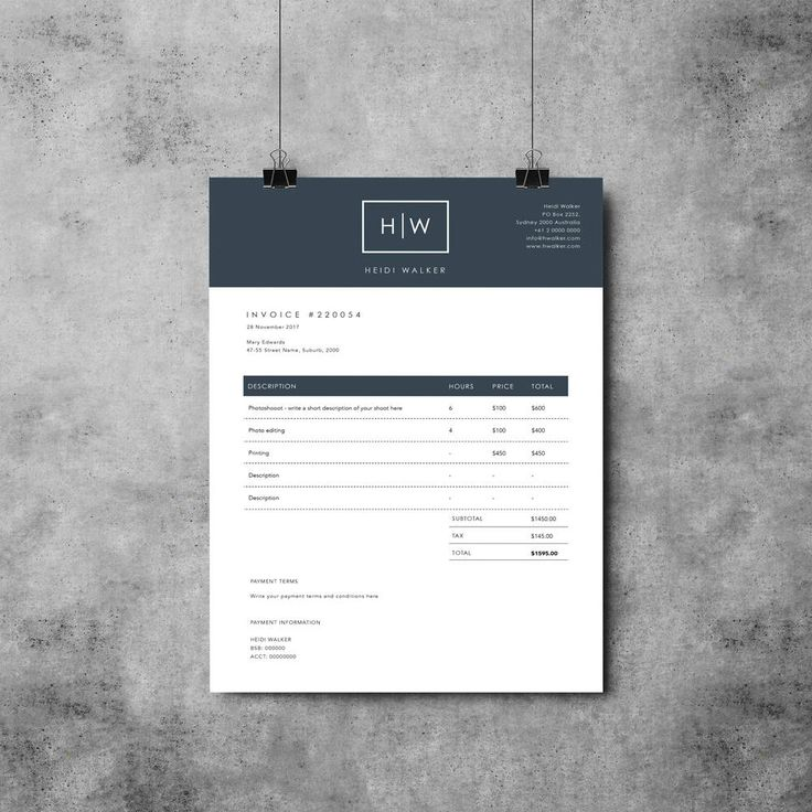 Invoice Bill To Pdf Best  Invoice Design Ideas On Pinterest  Invoice Layout  New Mexico Gross Receipts Tax Rates with Paypal Here Receipt Printer Photographer Invoice Template Invoice Design Receipt Taxi Cab Receipts Printable Word