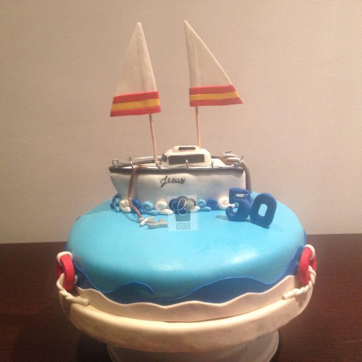 Cake Barco Mar