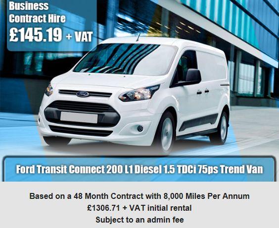 Ford Transit Connect 200 L1 Diesel 1.5 TDCi 75ps Trend Van